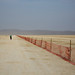 Decompress at the Trash Fence by AGrinberg
