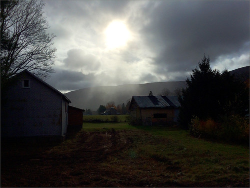 sun clouds shower lexington newyorkstate catskills iphone