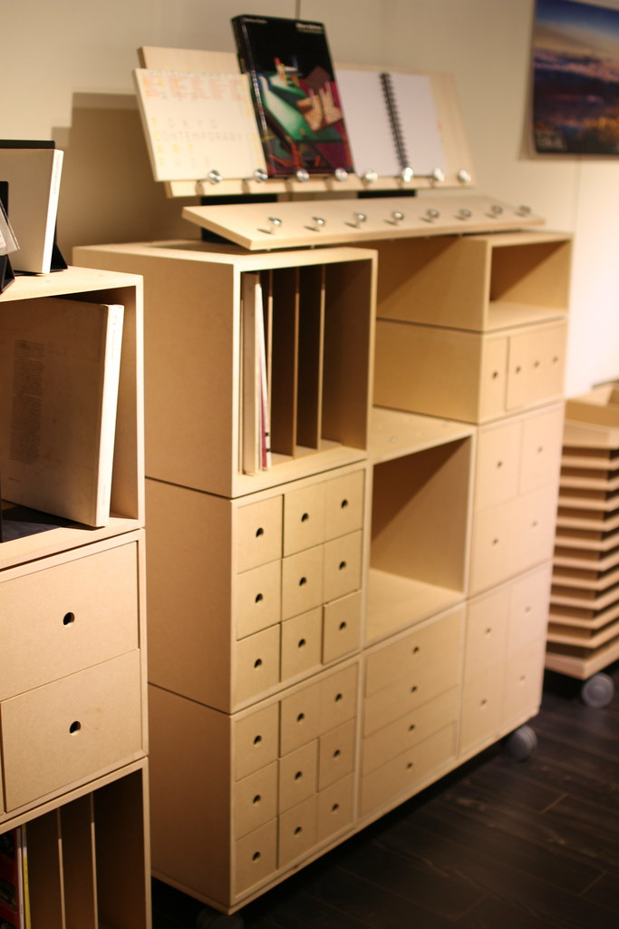 margherita(マルゲリータ)_ボックス組立型の棚