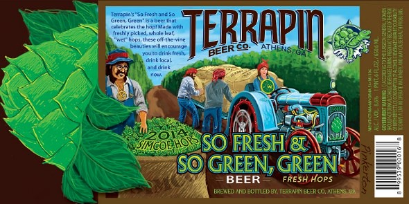 Terrapin So Fresh & So Green, Green