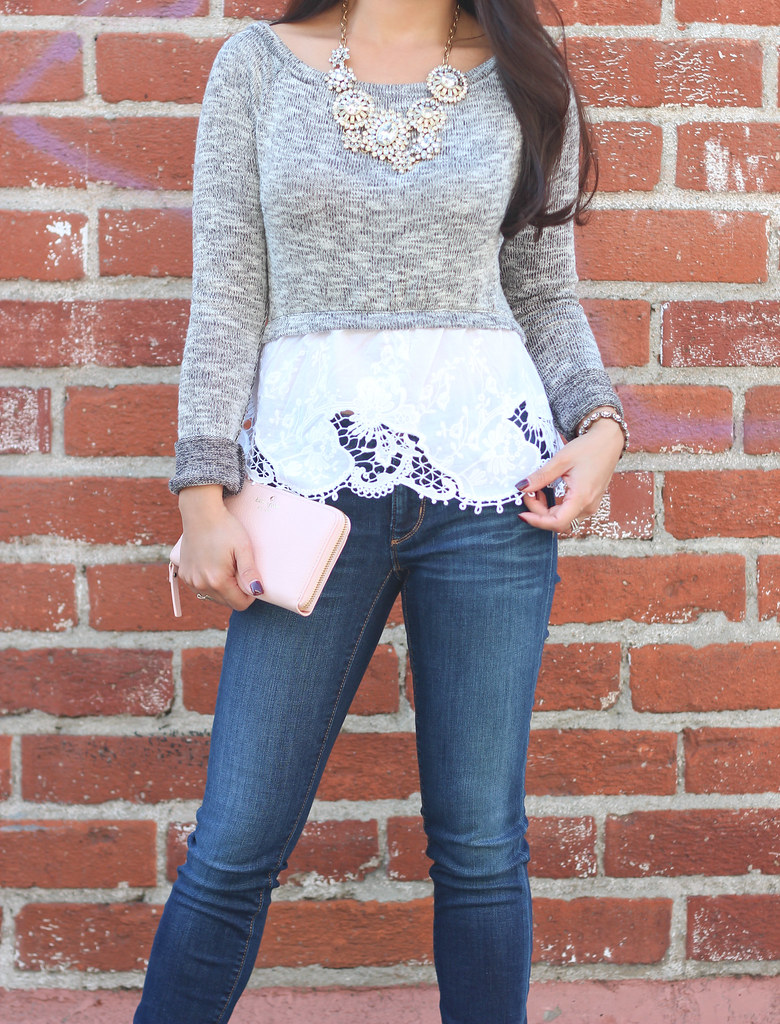 Gray Wool Hat and Clarks Booties-9