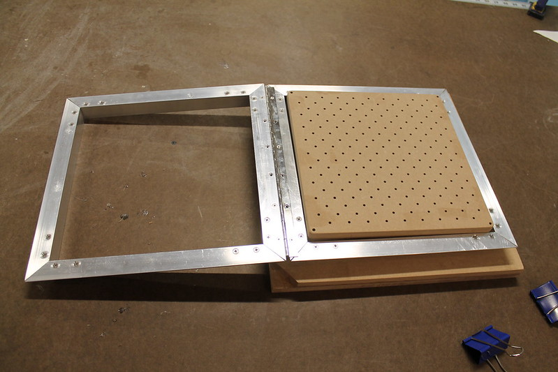 Carrier Frame and Vacuum Table