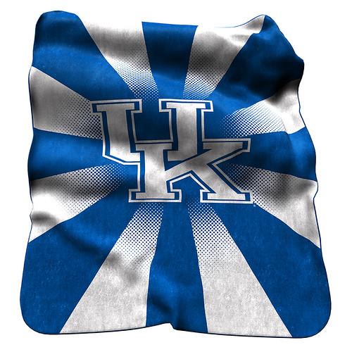 UK Wildcats NCAA Raschel Blanket