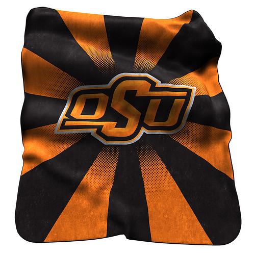 Oklahoma State Cowboys NCAA Raschel Blanket