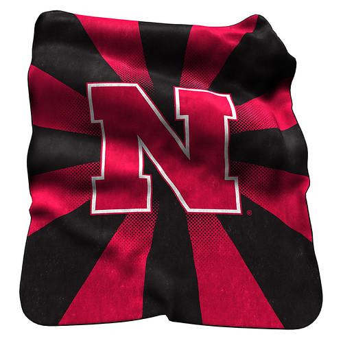 Nebraska Huskers NCAA Raschel Blanket