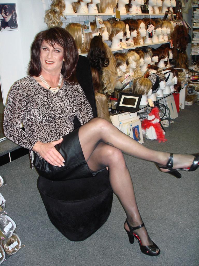 Something Crossdresser heels flickr