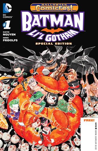 Halloween Comic Fest 2013 - Batman - Li'L Gotham Special Edition 001-000