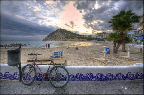 <b>Playa de Finestrat.