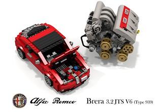 Alfa Romeo Brera Coupe (Typ 939) & UCS 3.2 JTS V6 Engine
