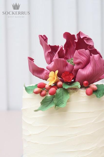 bröllopstårta höst