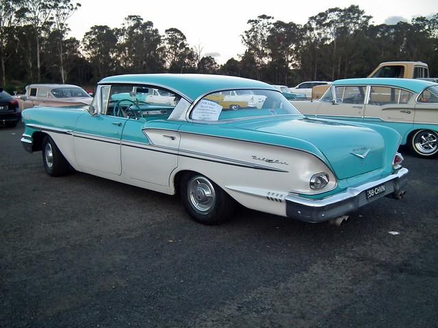 1958 Chevrolet Bel Air hardtop sedan