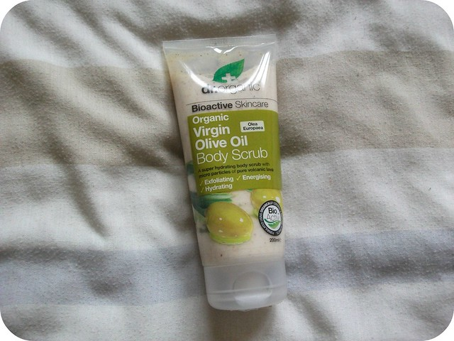 Dr Organic Olive Oil Body Scrub Review