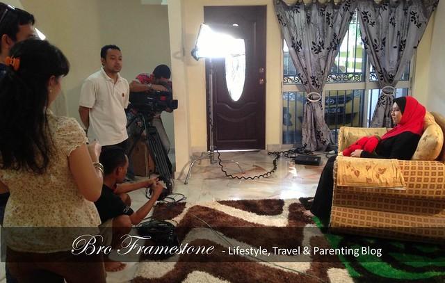 Blogger Voice - Shooting Isteri Bro Framestone