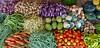 Richness of srilankan vegetables at Jaffna Market