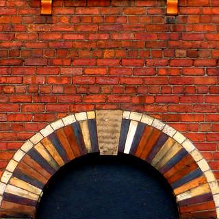 brick rainbow