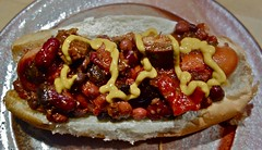 The Best Burnt Ends Chili Dog I Ever Ate