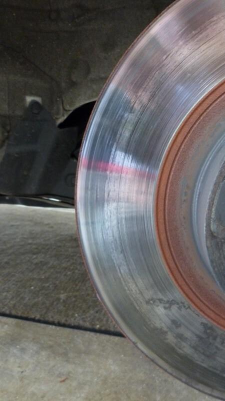 Minimum Thickness For Brake Pads : Minimum hpde brake pad thickness scion fr s forum