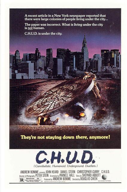 C.H.U.D. Movie Poster (1984)