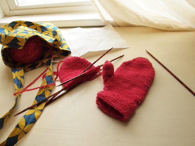 one mitten down, one to go.