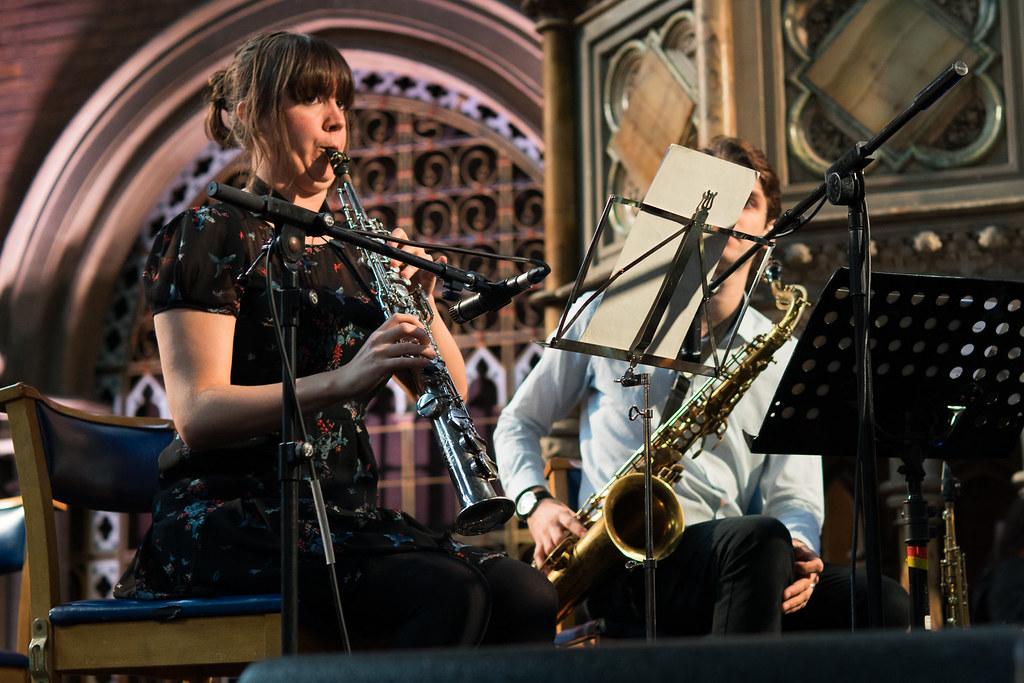 Daylight Music 25th October - The Kaleidoscope Saxophone Quartet
