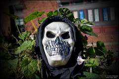 supervillain, masque, clothing, sculpture, head, costume, mask, skull,