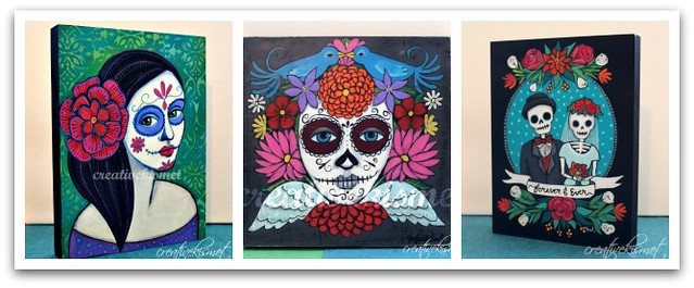 Day of the Dead Original art for sale