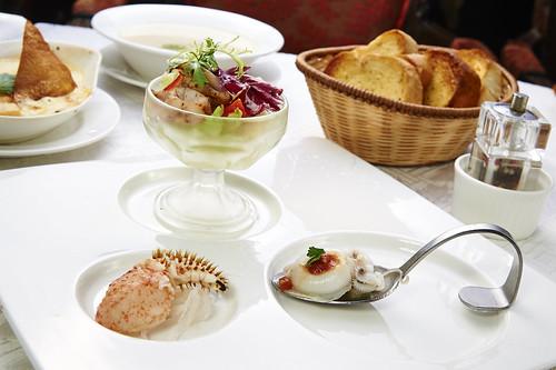 高雄新國際西餐廳正統牛排A餐套餐_附餐-開胃主題沙拉