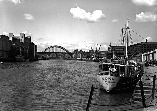 The Quayside, Newcastle upon Tyne, 1961