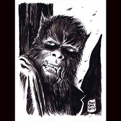 Curse of the Werewolf by Francesco Francavilla. #Comics #Horror