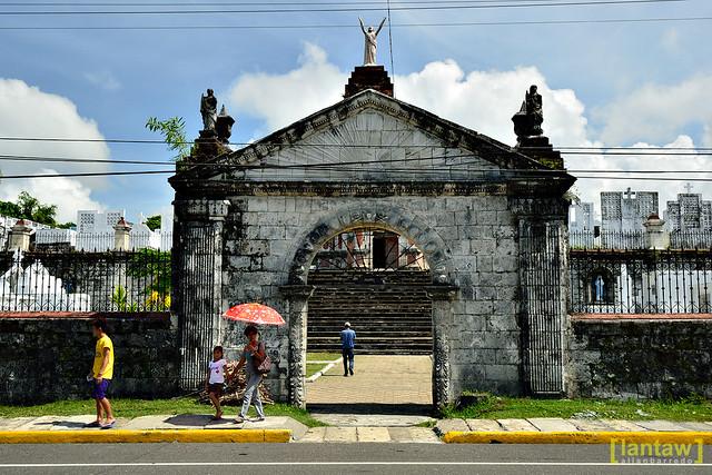 San Joaquin Cemetery Gate