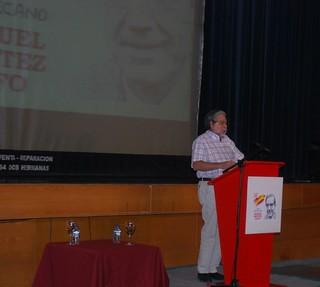 Se dan por concluidas las jornadas por la memoria del ex alcalde Manuel Benítez Rufo