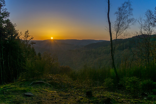 sunset europa ardennen landschaft belgien houffalize nadrin wallonischeregion valléedelaourthe