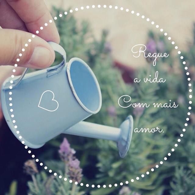 Regue a vida com mais amor ! #blogbonecadepano