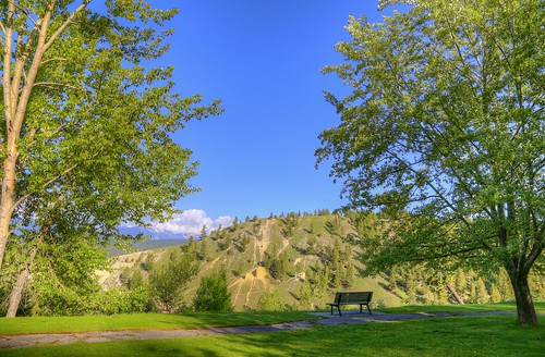 park morning trees canada hot green canon bench relax photography eos photo bc view image pics watch picture pic columbia canyon national photograph springs sit rest british radium kootenay allrightsreserved sinclair 6d cuthill bctourism britishcolumbiatourism canon6d westrockbob canoneos6d bobcuthillphotographygmailcom bobcuthill