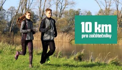 10 km - 8 týdenní tréninkový plán pro začátečníky