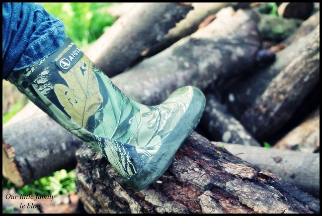 Les bottes Aigle Lolly Pop Camouflage