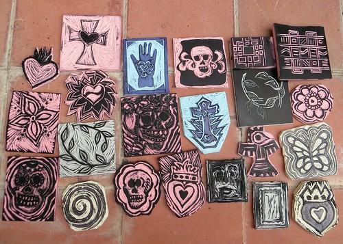 student work ~San Miguel de Allende, Mexico