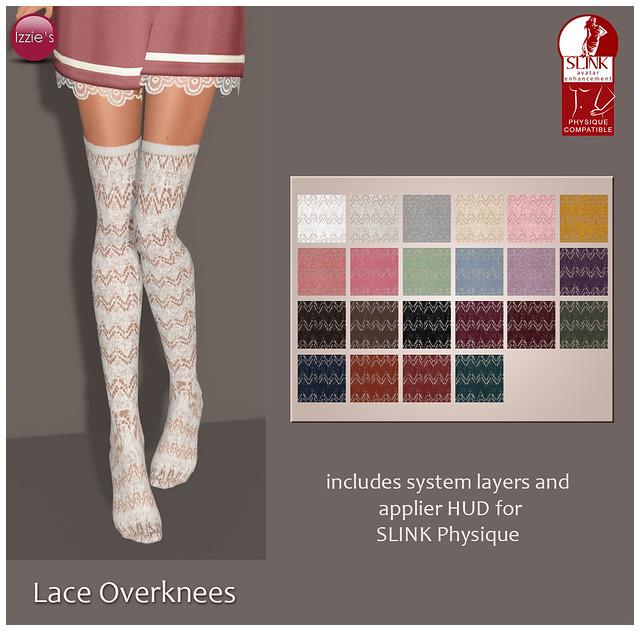 Lace Overknees