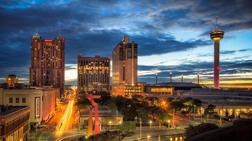 city architecture sanantonio sunrise river texas sony riverwalk a7r