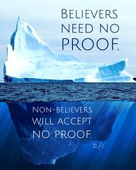 Believers-Need-No-Proof-Meme-Ann
