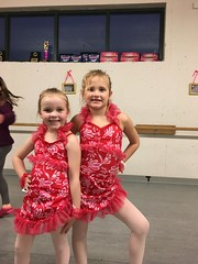 Another costume for the dance recital in. May