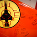 "Signatures adorn the tail of a McDonnell Douglas QF-4 Phantom II, in the offices of the 82nd Aerial Target Squadron Detachment 1 lat Holloman AFB, N.M., Dec. 20, 2016. The squadron commander, Lt. Col. Ron ""Elvis"" King, was last active-duty Air Force pilot to fly the McDonnell Douglas F-4 Phantom II, during the final military flight of the storied aircraft at Holloman AFB on Dec. 21, 2016. The F-4 Phantom II entered the U.S. Air Force inventory in 1963 and was the primary multi-role aircraft in the USAF throughout the 1960s and 1970s. The F-4 flew bombing, combat air patrol, fighter escort, reconnaissance and the famous Wild Weasel anti-aircraft missile suppression missions. The final variant of the Phantom II was the QF-4 unmanned aerial targets flown by the 82nd at Holloman AFB. (U.S. Air Force photo by J.M. Eddins Jr.)"