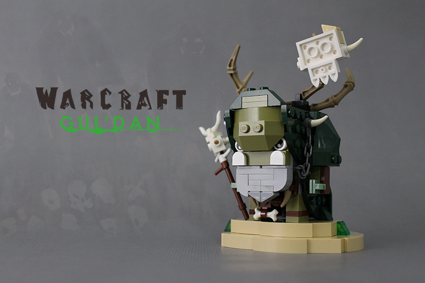 GUL'DAN (custom built Lego model)