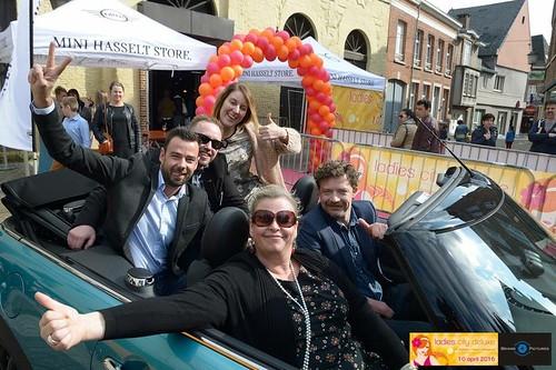 Ballonboog 7m Ladies Citydeluxe Diest Belgie