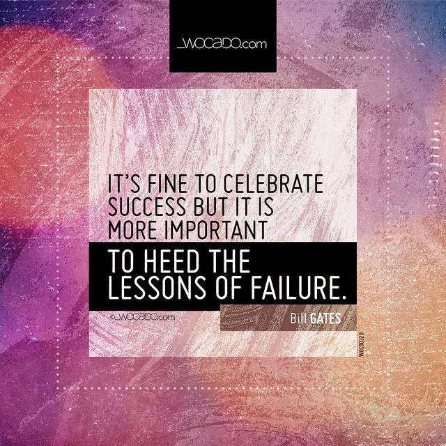 It's fine to celebrate success by WOCADO.com