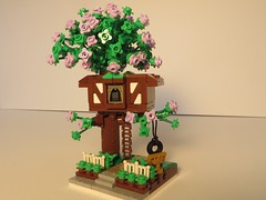Tiny Tudor Treehouse - front