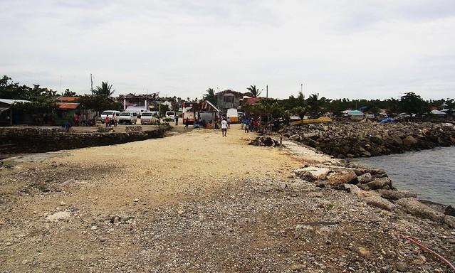 Old Maya port