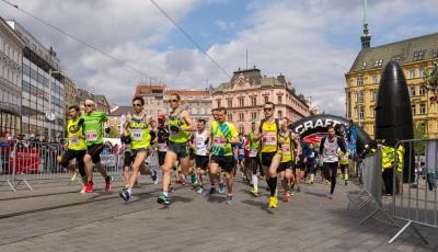 Brněnský půlmaraton vyhrál Čípa v rekordu