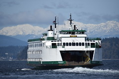 M/V Issaquah Departing Fauntleroy --- Washington State Ferries