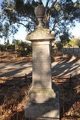 John Colville's tombstone, St Stephen's cemetery, Willunga